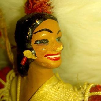 кукла Испанка антиквариат.