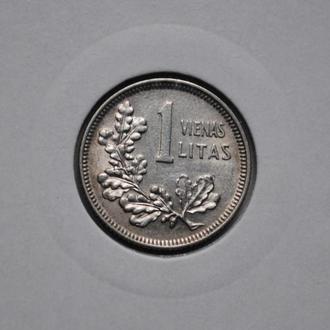 Литва 1 лит 1925 г. UNC, 'Первая Республика (1925-1938)', РЕДКОЕ СОСТОЯНИЕ