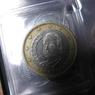 1 Евро Испания 2001