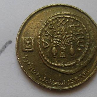 ИЗРАИЛЬ 5 агорот (античная монета).