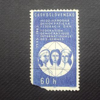 ЧССР 1965г.негаш.