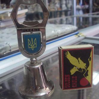 открывалка для бутылок колокольчик символ украина №6011