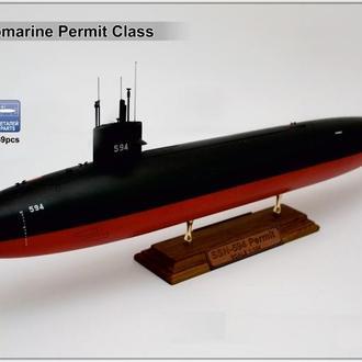 Modelsvit - 1402 - Permit (SSN-594) - 1:144