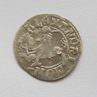 полугрош 1501-1506гг Александр Ягелончик , Литва, Вильно (А5)