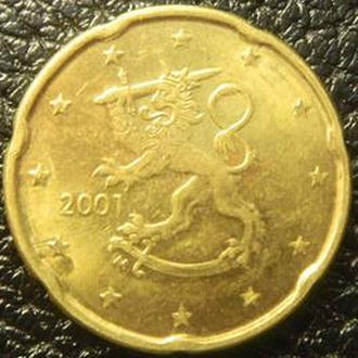 20 євроцентів 2001 Фінляндія