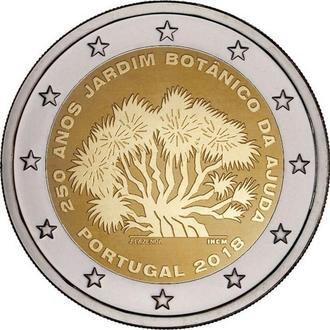 Shantаal, Португалия 2 Евро 2018, 250-летие Ботанического сада Ажуда в Лиссабоне