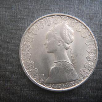 Италия 500 лир 1966 серебро парусник (B4)