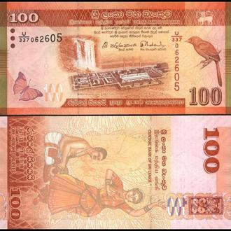 ШРИ-ЛАНКА 100 рупий 2015г. UNC