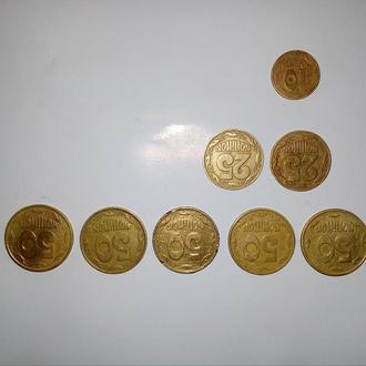 Монети України 1992-1995 рік