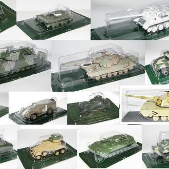 РУССКИЕ ТАНКИ  модели из журнальной серии
