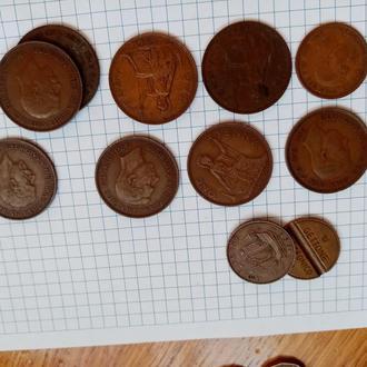 Пол пенни и пенни Великобритании