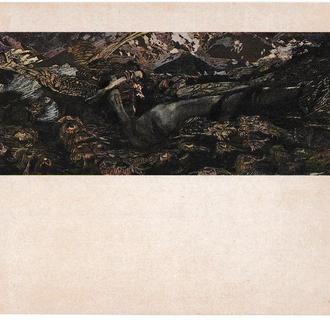 Открытка 1982 Живопись, искусство, Третьяковская галерея, Врубель, Демон поверженный