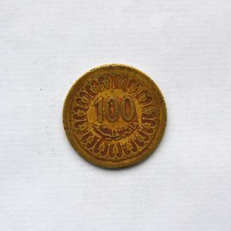 Тунис - 100 миллим 1983