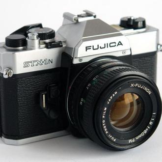 Зеркальная камера Fujica STX-1N 50 mm 1:1.9 Japan
