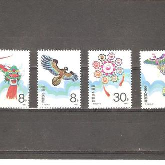 Фауна  Китай  1987г. MNH  (см. опис.)