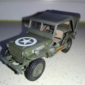 1/43 JEEP WILLYS. CARARAMA.
