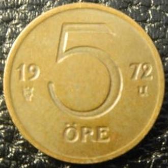 5 оре 1972 U Швеція