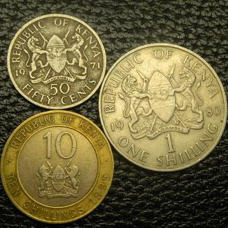 Монети Кенії