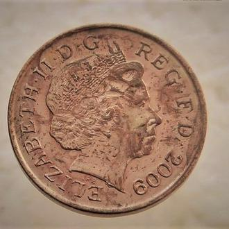 1 пенни Великобритания 2009 год (77)
