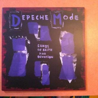 DEPECHE MODE - SONGS OF FAITH AND DEVOTION remastered 180gr