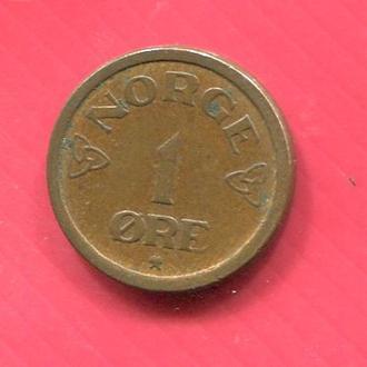 Норвегия 1 эре 1956