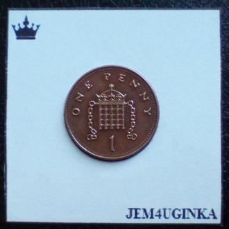 Великобритания. 1 пенни 2003 г.  XF