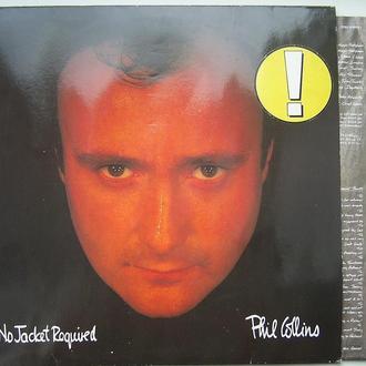 PHIL COLLINS   No Jacket Required  LP EX-/VG+