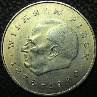 Германия  20 марок 1972 год Вильгельм Пик