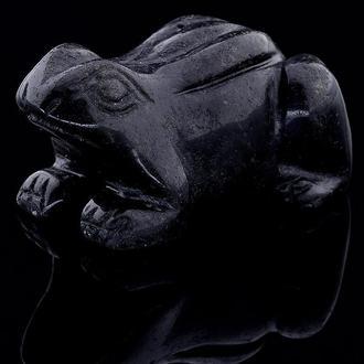 Фигурка Лягушка из агата