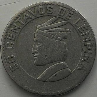 Гондурас 50 центов  1967 год