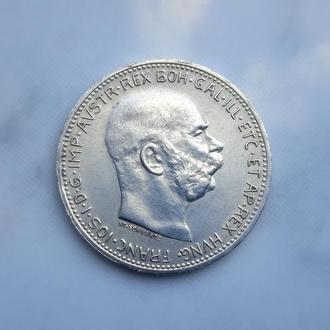 1 Корона 1915г. (серебро)Австро-Венгрия