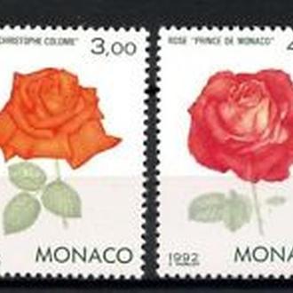 Монако 1993 Розы