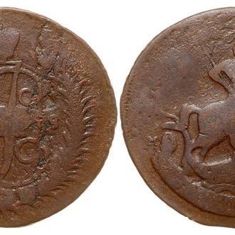 2 копейки 1788 ММ года №6101