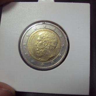 монета 2 евро 2013 греция №11358