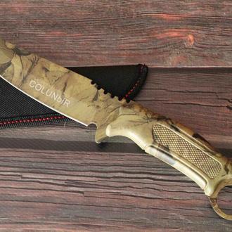 Охотничий камуфляжный нож jungle