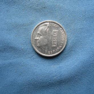 Испания 1 песета 1996 год