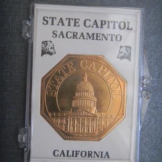 США Капитолий Невада Калифорния банккапсула