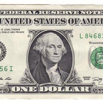 1 доллар США 2009 L Сан-Франциско Калифорния FW