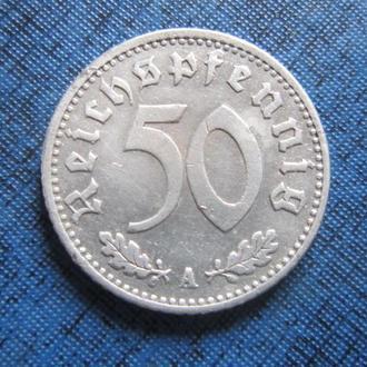 монета 50 пфеннигов Германия 1935 А
