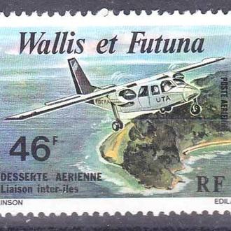 Авиация .  Уоллис и Футуна 1979 г MNH -