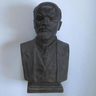 Бюст Ленин СССР чугун