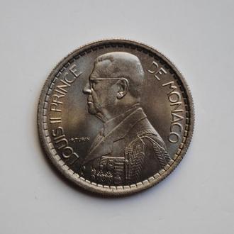 Монако 10 франков 1946 г., BU, 'Князь Луи II (1922 - 1949)'