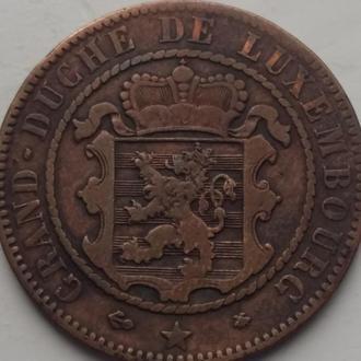 Люксембург 10 сантим 1865 год СОХРАН!!!