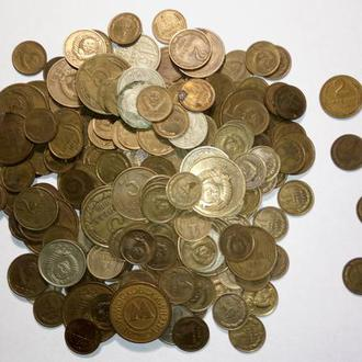 Обиходные монеты СССР 1926 - 1991 гг..     235 штук.