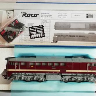 Масштабная модель дизеля BR 120 048-4 DR арт.63392 ROCO (Австрия)