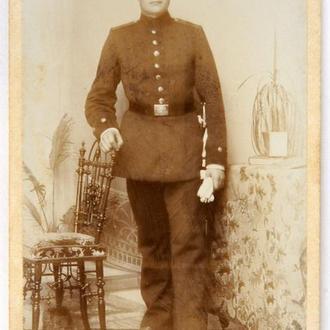 Кабинетка Портрет военного 1910-е гг., Harburg, Germany, fB02