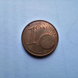 Оригинал.Австрия 1 цент 2005  год.