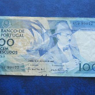 банкнота 100 ишкуду Португалия 1986