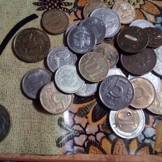 Лот монет Росии и ссср