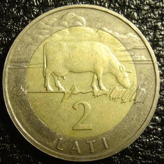 2 лата 2009 Латвія